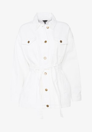 THE BELTED JACKET - Manteau court - white