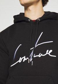 The Couture Club - ESSENTIALS SIGNATURE SLIM FIT HOODIE - Huppari - black - 3