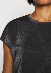 HUGO - DIJALLA - Basic T-shirt - black - 5