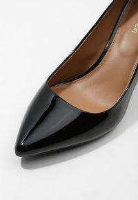 Calvin Klein - GAZELLE - Høye hæler - black - 6