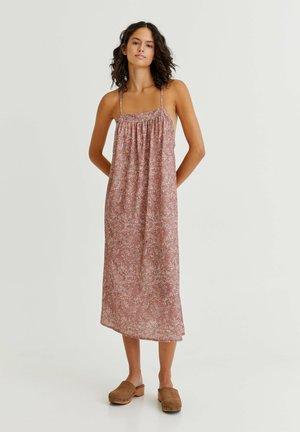 Day dress - mottled light pink