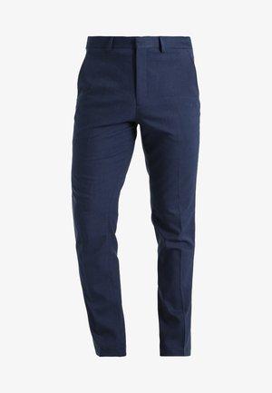 MATHCOLE SLIM FIT - Pantaloni eleganti - dark blue