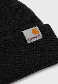 Carhartt WIP - STRATUS HAT LOW UNISEX - Čepice - black - 2
