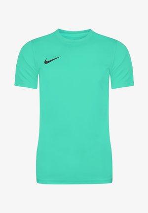 DRI-FIT PARK - Basic T-shirt - hyper turquoise / black