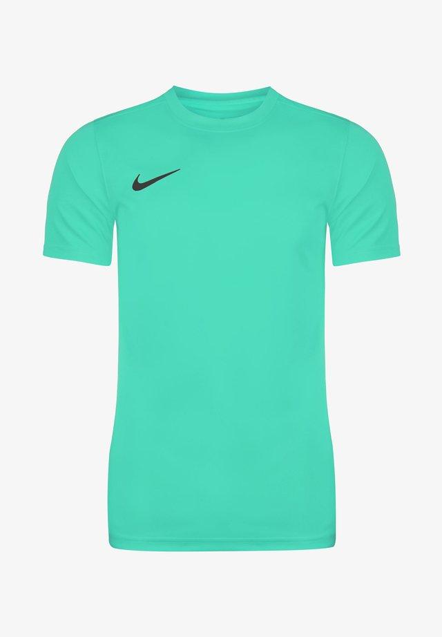 DRI-FIT PARK - T-shirt basic - hyper turquoise / black
