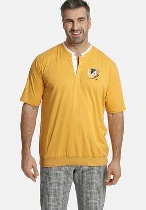 EARL TARELL - Print T-shirt - gelb