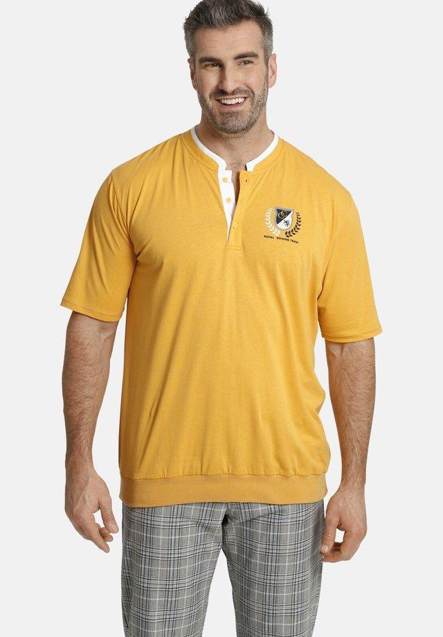 EARL TARELL - T-shirt imprimé - gelb