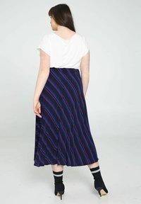 Promiss - A-line skirt - marine - 2