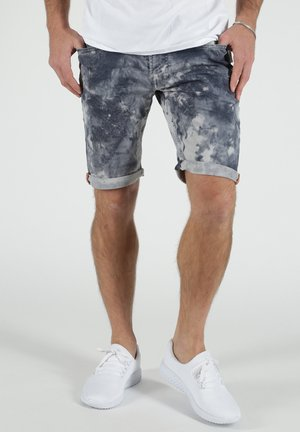 Denim shorts - schwarz