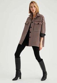 DeFacto - Short coat - brown - 1