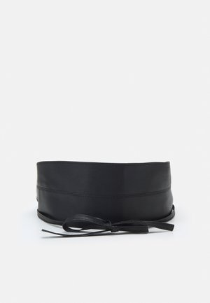 DELENA - Taljebælter - black