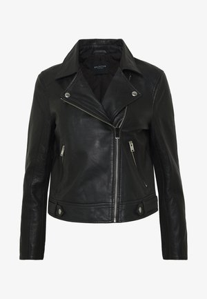 SLFKATIE LEATHER JACKET  - Giacca di pelle - black