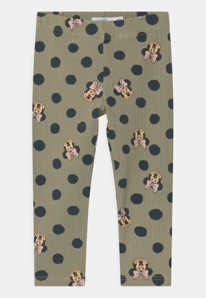 NMFMINNIE FAYA  - Leggings - silver sage