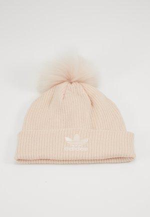 POM BEANI - Beanie - pink/white