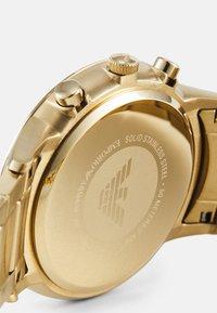 Emporio Armani - RENATO - Cronografo - gold-coloured - 3