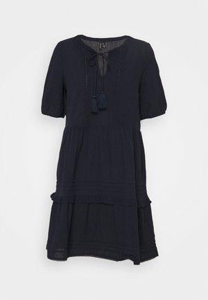 VMIBIA SHORT DRESS - Day dress - navy blazer