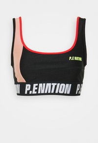 OPPONENT SPORTS BRA - Medium support sports bra - black