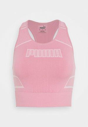 EVOSTRIPE EVOKNIT CROP - Camiseta de deporte - foxglove