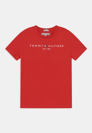 ESSENTIAL TEE - T-shirts print - deep crimson