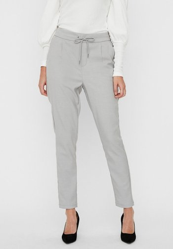 Broek - light grey melange