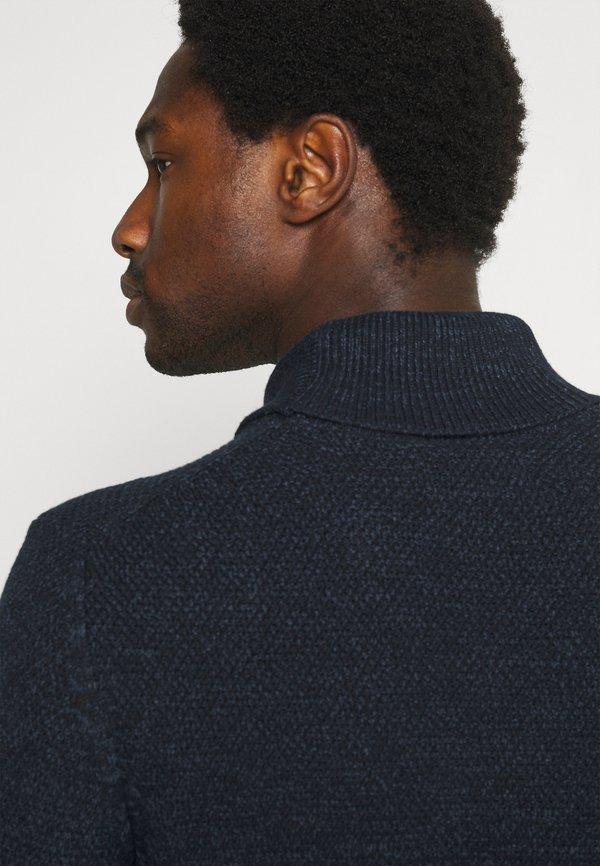 Springfield SMOKING - Sweter - dark blue/granatowy Odzież Męska ZQHX