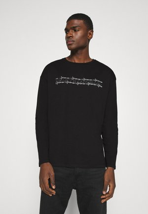 JORCLOSE CREW NECK  - Long sleeved top - black