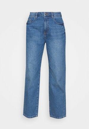 NMBROOKE - Straight leg jeans - medium blue denim