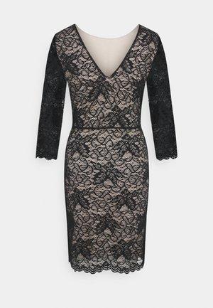 VMEVIE 3/4 DRESS - Day dress - black