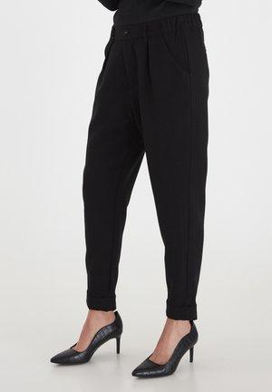 PZSCARLET SKINNY - Trousers - black beauty