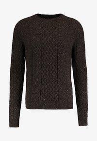 Pier One - Sweter - mottled brown - 4