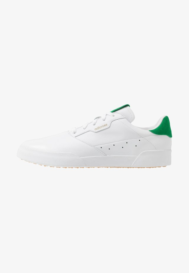 ADICROSS RETRO - Golf shoes - footwear white/green