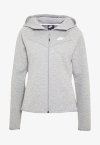 Nike Sportswear - HOODIE - Zip-up hoodie - mottled grey - 4