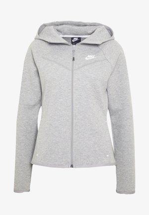 HOODIE - Mikina na zip - mottled grey