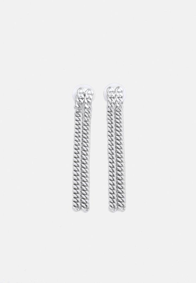 EARRINGS GUDRUN - Korvakorut - silver-coloured