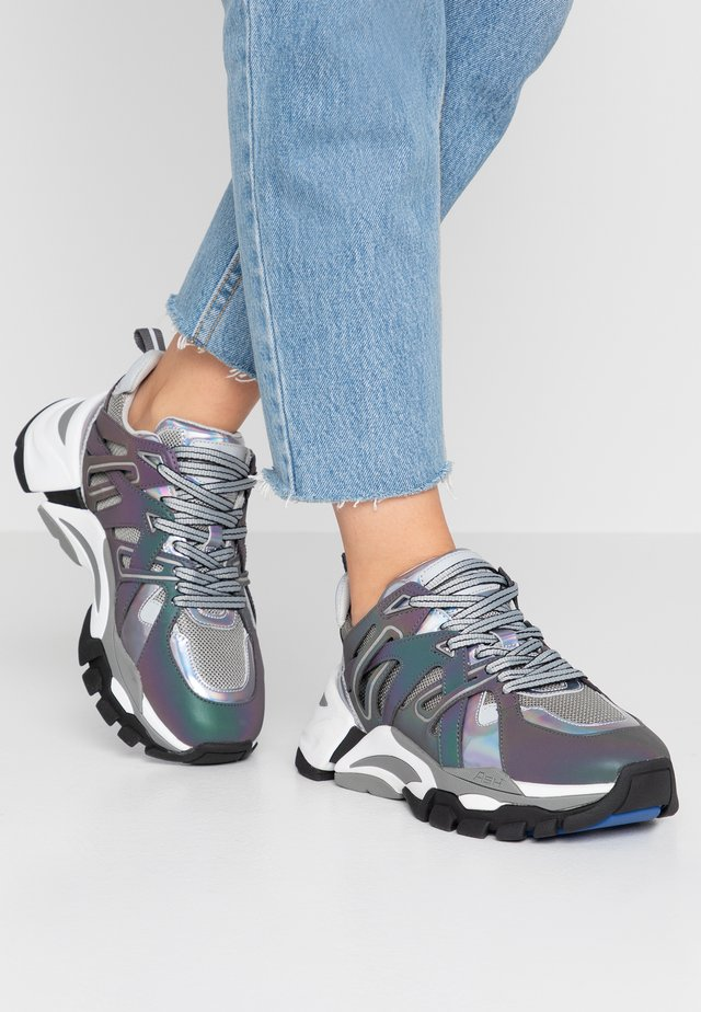 FLASH  - Sneakers - rainbow/silver /petrol