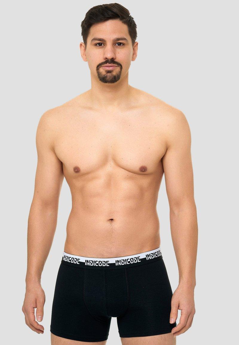INDICODE JEANS - 7 PACK - Onderbroeken - black