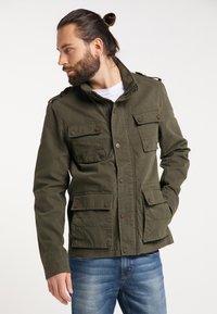 DreiMaster - Summer jacket - dark olive - 0