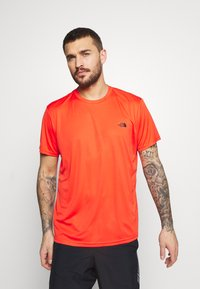 The North Face - MEN'S REAXION AMP CREW - Basic T-shirt - flare - 0
