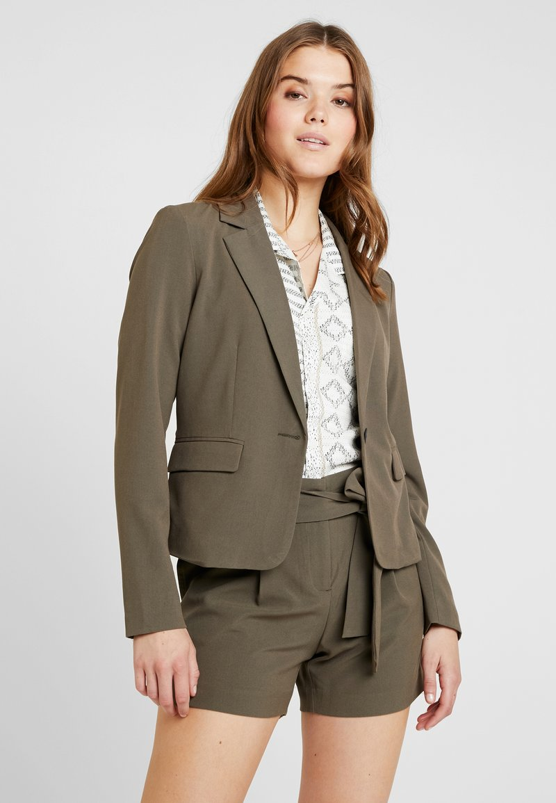 ONLY - ONYTINI FITTED - Blazer - tarmac
