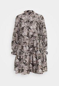 Vero Moda - VMKIRA TIE SHORT DRESS - Kjole - tornado/kira - 4
