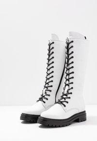 MJUS - Platform boots - bianco - 4