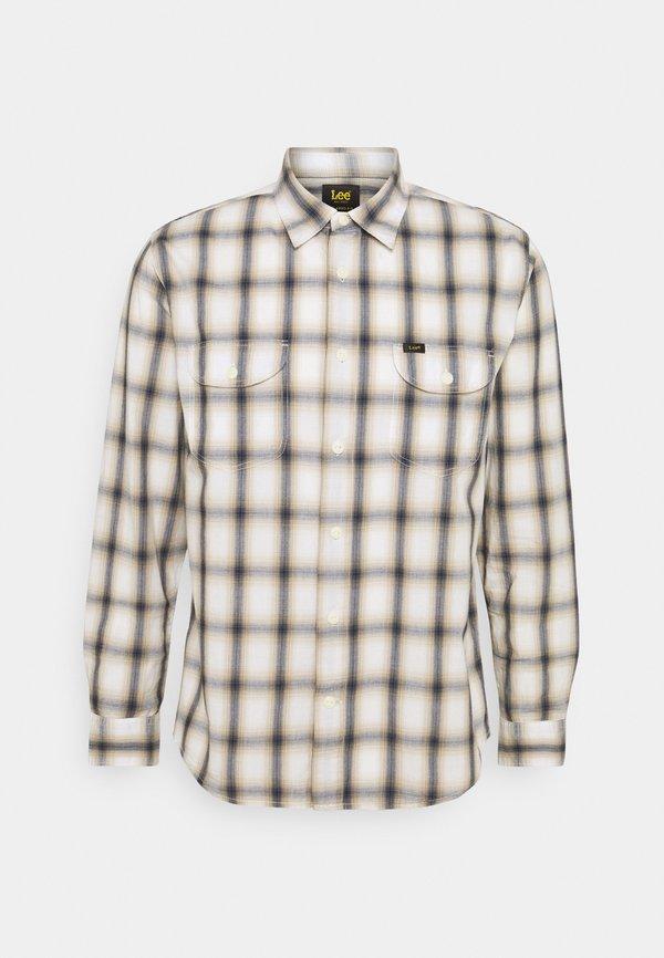 Lee WORKER - Koszula - service sand/mleczny Odzież Męska NUNZ