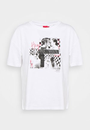 THE BOXY TEE 7 - Print T-shirt - open miscellaneous