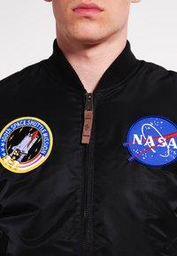 Alpha Industries - NASA - Giubbotto Bomber - black - 4