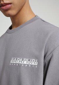 Napapijri - BEATNIK - Long sleeved top - grey gull - 3