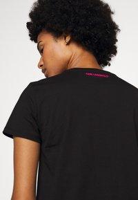 KARL LAGERFELD - LEGEND LOGO - T-Shirt print - black - 5