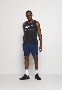 Nike Performance - SHORT TRAIN - Pantalón corto de deporte - blue void/game royal/white - 1