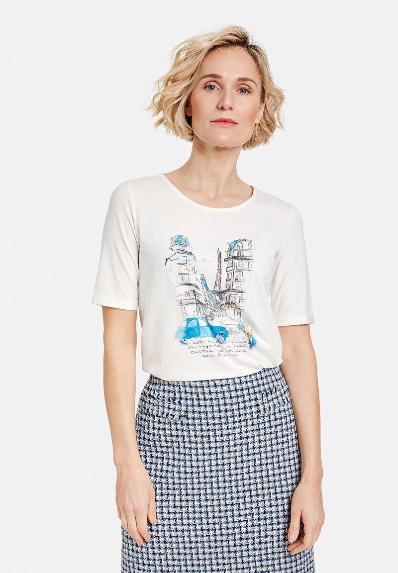 Gerry Weber - Print T-shirt - off-white