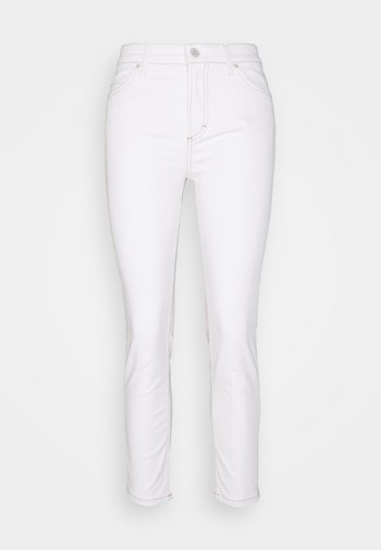 KAJ CROPPED - Jeans Skinny Fit - multi/off-white cotton