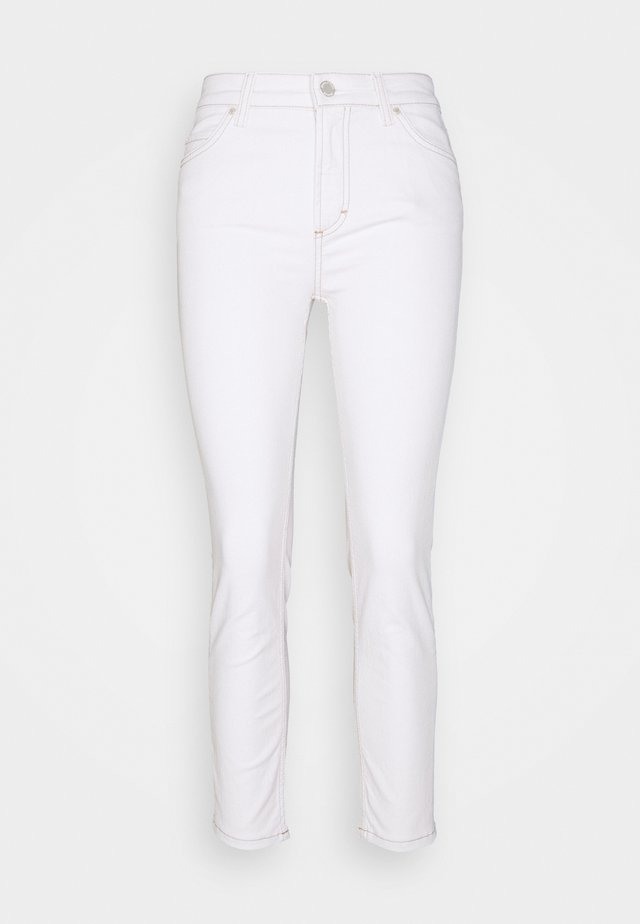 KAJ CROPPED - Jeans Skinny - multi/off-white cotton